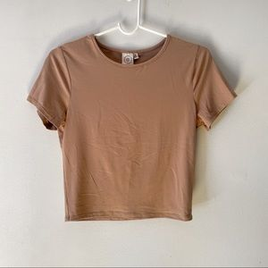 ✨4 for $25✨ Live in the Moment Nude Soft T-Shirt